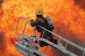 Сумская область: во время пожара спасли человека