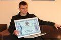 Сумчанин Артем Гарин установил рекорд Украины в номинации «Феноменальная память» (+відео)